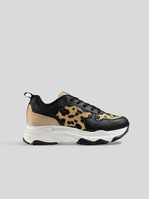 Sneakers & streetskor - NA-KD Shoes Leopard Detailed Chunky Trainers multicolor