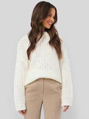 NA-KD Trend Heavy Knitted Sweater offvit