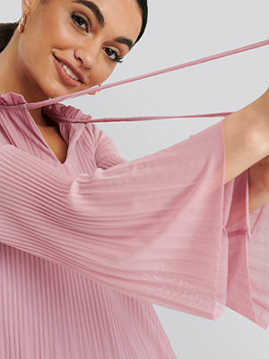Trendyol Pleated Mini Dress rosa