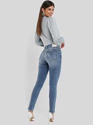 Calvin Klein 010 High Rise Skinny Jeans blå