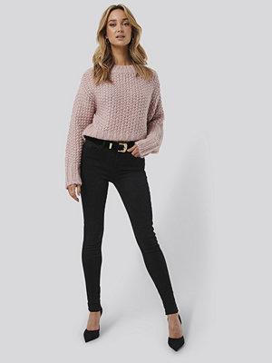 Trendyol High Waist Skinny Jeans svart