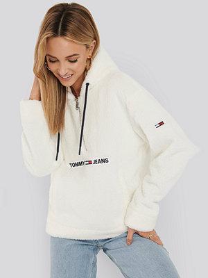 Tommy Jeans Tommy Teddy Popover Jacket vit
