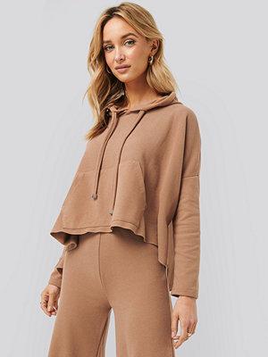 Trendyol Hooded Knitted Sweatshirt brun