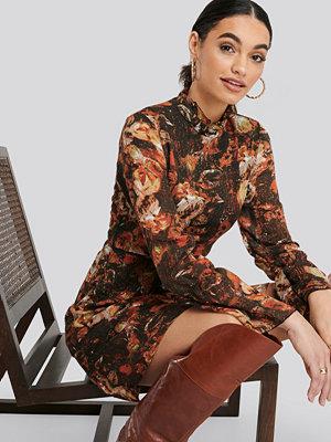 Trendyol Patterned Mini Dress multicolor
