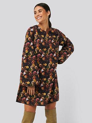 NA-KD Trend Volume LS Mini Dress multicolor