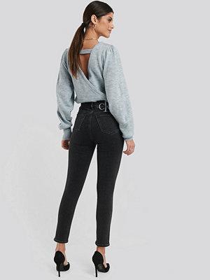 Calvin Klein 010 High Rise Skinny Ankle Jeans svart