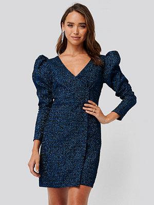 Trendyol Jacquard Dress blå