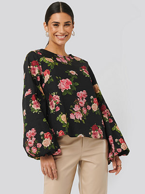 NA-KD Volume LS Blouse multicolor