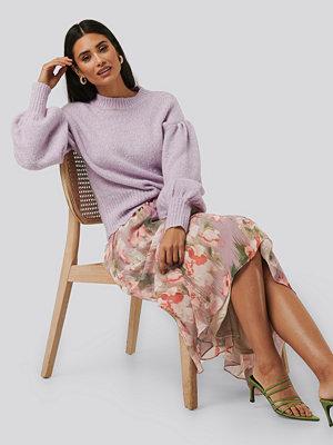 NA-KD Flowy Chiffon Skirt multicolor