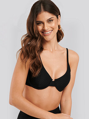 Bikini - NA-KD Swimwear Structured Bikini Cup Bra svart