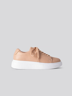 NA-KD Shoes Basic Court Trainers rosa