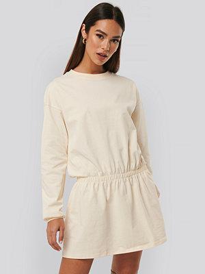 NA-KD Jersey Skirt Dress gul