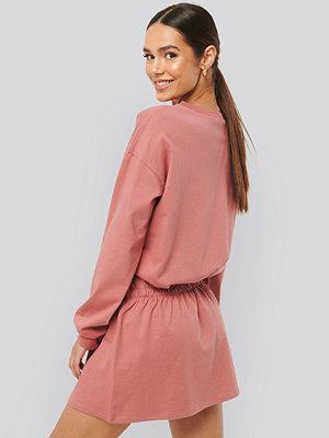 NA-KD Jersey Skirt Dress rosa