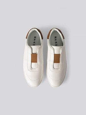 Sneakers & streetskor - NA-KD Shoes Slip In Trainers vit