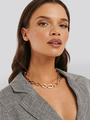 Statement by NA-KD Influencers smycke Laura Genovino Chunky Chain Necklace guld