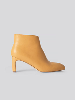 NA-KD Shoes Ankelboots gul