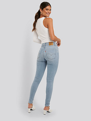 Jeans - Levi's Mile High Super Skinny Between blå