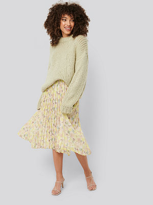 NA-KD Trend Layered Pleated Skirt multicolor