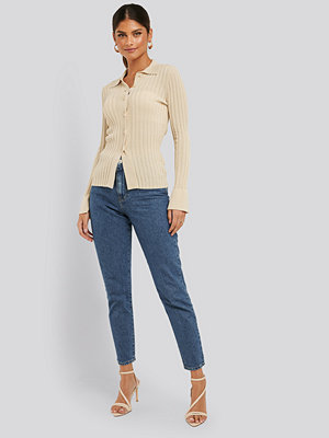 NA-KD Mom-Jeans blå