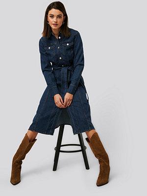 NA-KD Trend Denimklänning blå