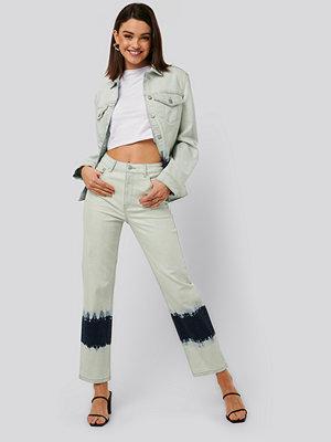 NA-KD Trend Jeans Med Hög Midja blå