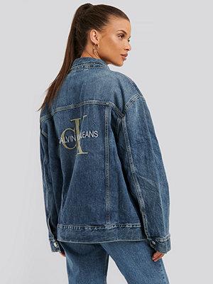 Jeansjackor - Calvin Klein Denimjacka blå