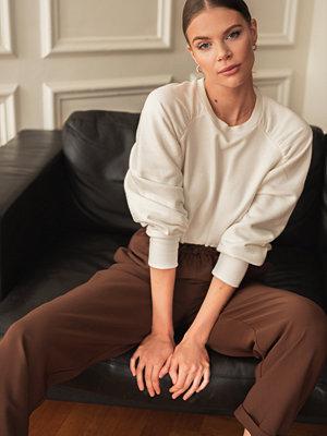 Josefin Ekström for NA-KD Sweatshirt vit