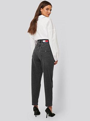 Tommy Jeans Mom-Jeans Med Hög Midja grå
