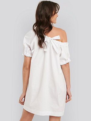NA-KD Trend One Shoulder Cotton Dress vit