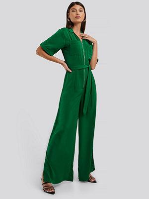 Jumpsuits & playsuits - NA-KD Jumpsuit grön