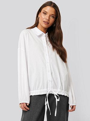 NA-KD Trend Skjorta Med Ballongärm vit