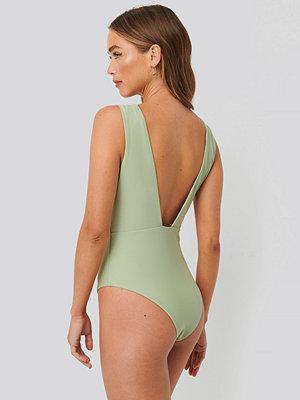 Baddräkter - NA-KD Swimwear Baddräkt grön