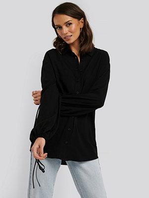 Tunikor - NA-KD Trend Skjorta Med Ballongärm svart