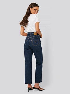 Levi's Raka Jeans Med Hög Midja blå