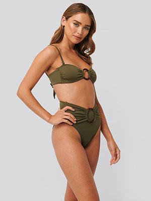 Trendyol Bikini Med Hög Midja grön