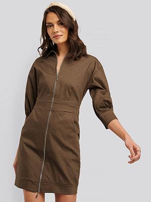 Trendyol Miniklänning brun