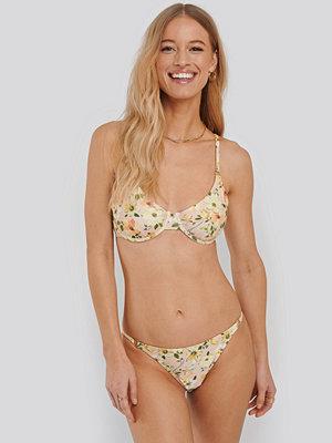 NA-KD Swimwear Ring Detal Thin Bikini Panty multicolor