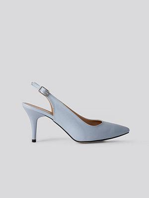 Trendyol Classic Heels Buckle Sandal blå