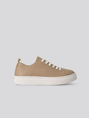 NA-KD Shoes Bassneakers beige