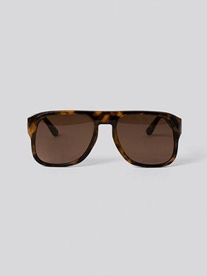 Mango Jackie Sunglasses brun