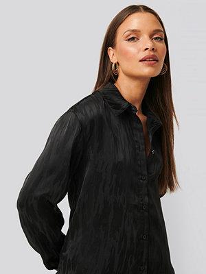 Skjortor - NA-KD Classic Blus Med Knappar svart