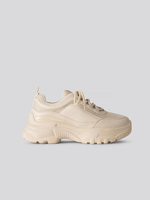 NA-KD Shoes Chunky Sneakers beige