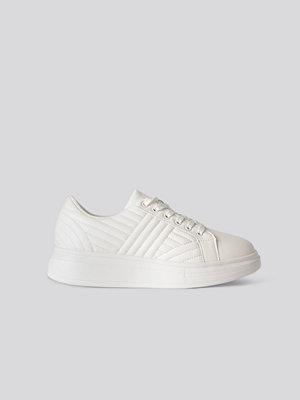 Sneakers & streetskor - NA-KD Shoes Klassiska Sneakers vit