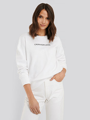 Calvin Klein Institutional Regular Crew Neck Sweater vit