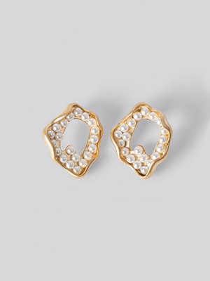 NA-KD Accessories smycke Sea Look Earrings guld