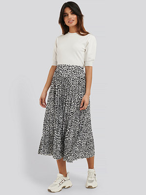 NA-KD Midi Pleated Skirt multicolor
