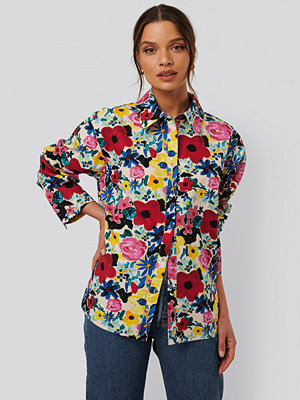 NA-KD Trend Bomullsskjorta multicolor