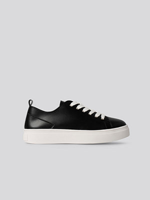 NA-KD Shoes Bassneakers svart