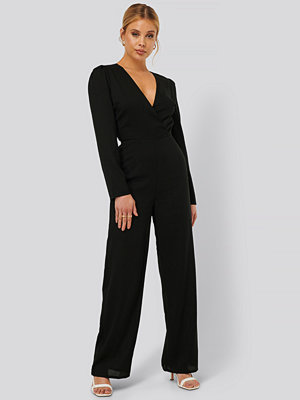 NA-KD Party Jumpsuit svart