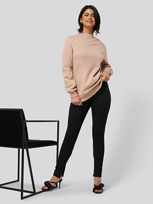 Leggings & tights - Olivia Salo x NA-KD Byxor svart